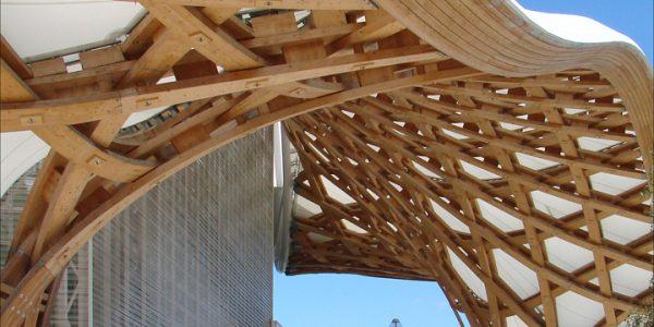 La charpente du Centre Pompidou Metz