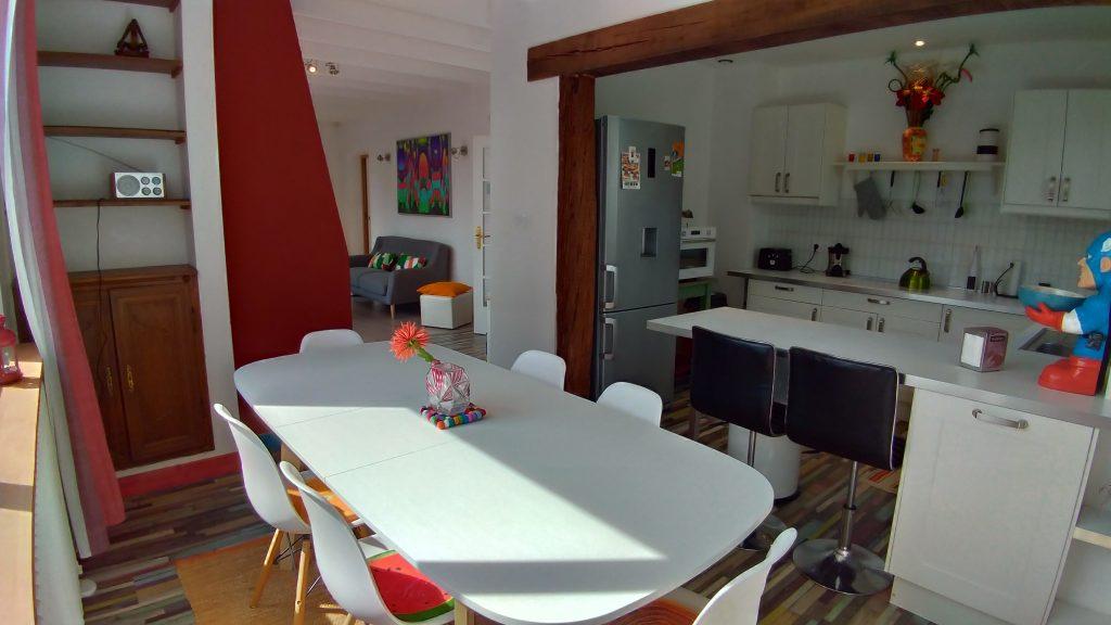 La Cuisine Salle A Manger Gite 4 Etoiles A Metz Chemin Des